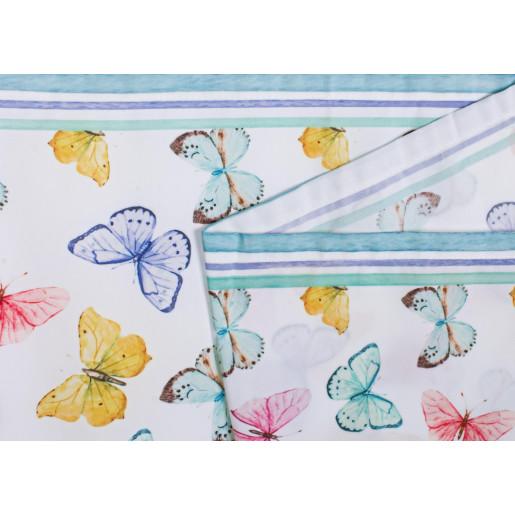 Fata de masa bumbac Butterfly 40 cm X 150 cm