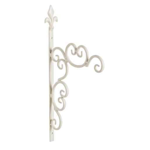 Suport fier forjat ghiveci suspendabil 22 cm x 42h