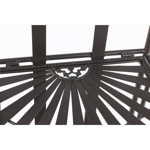 Raft fier forjat maro 4 polite 34 cm x 30 cm x 153h