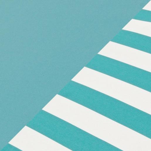 Perna sezut bancuta paleti din textil gri albastru 120 cm x 80 cm x 15 h