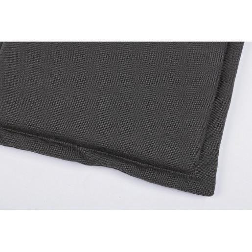 Perna bancuta 3 locuri din textil gri Nat 153 cm x 48 cm x 3 h