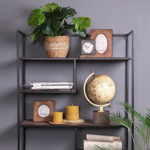Glob pamantesc decorativ fier lemn plastic 22 cm x 20 cm x 33 cm