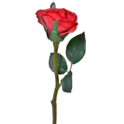 Trandafir rosu decorativ 30 cm