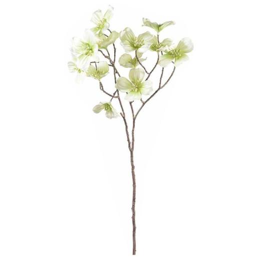 Crenguta artificiala flori cornus alb 73 cm