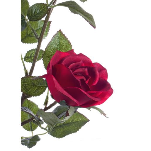 Trandafiri artificiali in ghiveci 39x35x48h