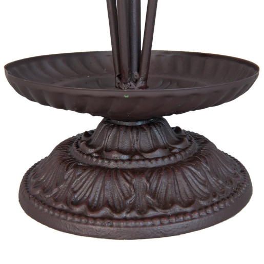 Suport fier forjat maro pentru umbrele 34 cm x 75 H