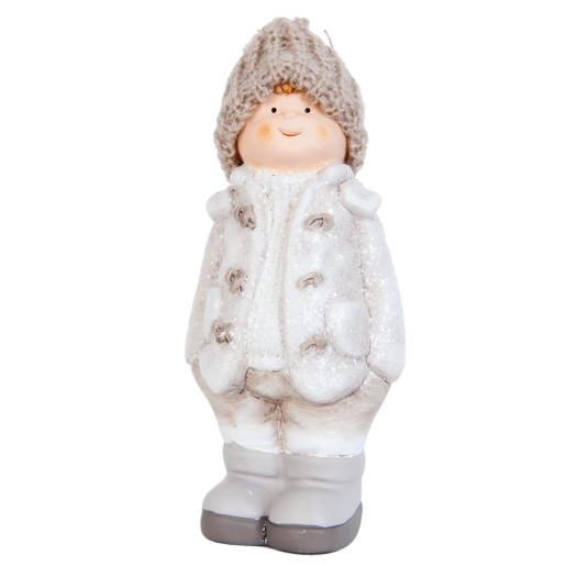 Figurina baietel Winter White