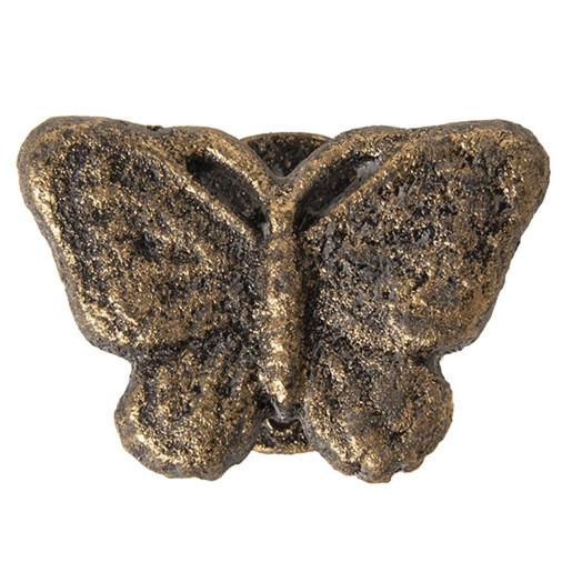 Buton mobila din fier auriu 8 cm x 5 cm x 3 cm