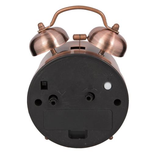 Ceas desteptator metal cupru clasic 8*5*12 cm