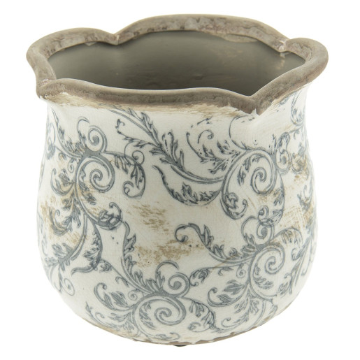 Ghiveci flori ceramica Elegance Ø 15 cm x 14 h