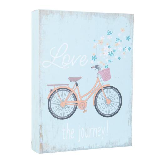 Tablou suspendabil Love the Journey 12*3*16 cm