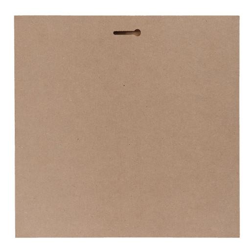 Tablou suspendabil model Craciun lemn 30 cm x 30 cm