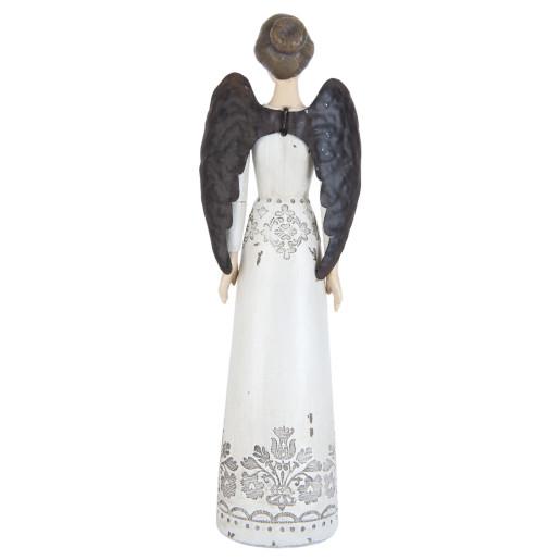 Figurina Inger decorativ polirasina 25 cm
