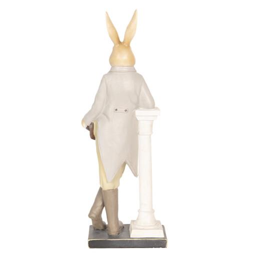 Figurina Iepuras Paste polirasina 17 cm x 46 cm