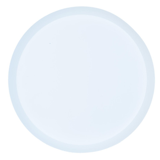 Masuta fier negru alb Ø 38 cm x 50 cm