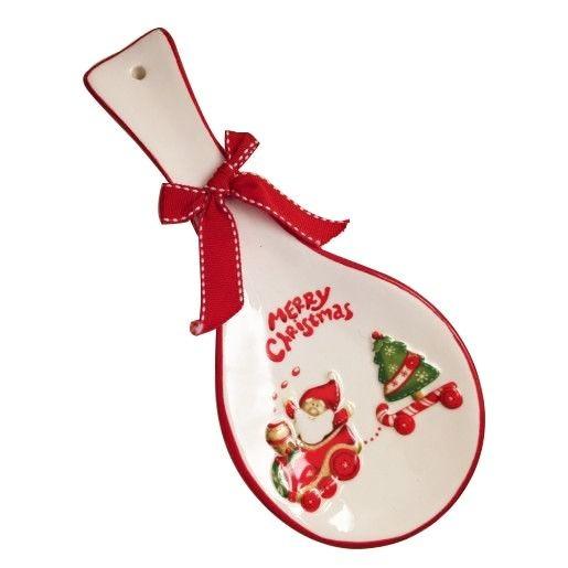 Suport lingura decor Santa