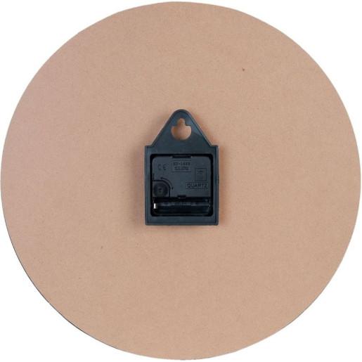 Ceas de perete lemn Rose de Provence Ø 34 cm