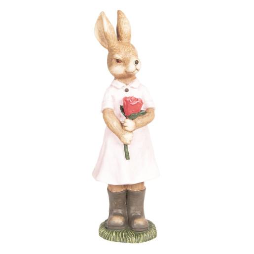 Figurina Iepuras Paste Girl polirasina 18 cm x 19 cm x 60 cm