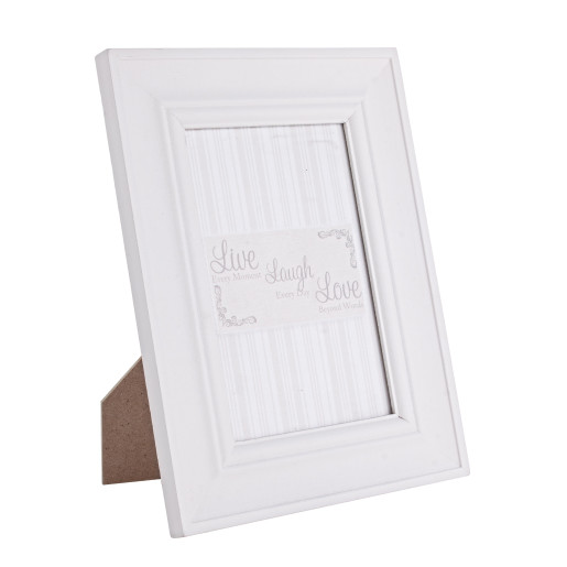 Rama foto de masa lemn alb Randy 16 cm x 21h