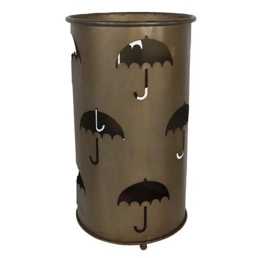 Suport umbrele din metal maro Ø 26 cm x 46 h