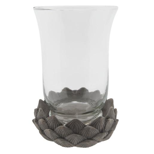 Vaza pentru flori sticla Ø 17 cm x 23 cm
