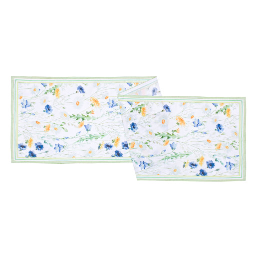 Fata de masa Flowers 40x150 cm