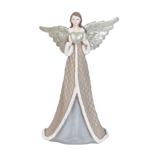 Figurina Inger decorativ polirasina 9x8x17 cm