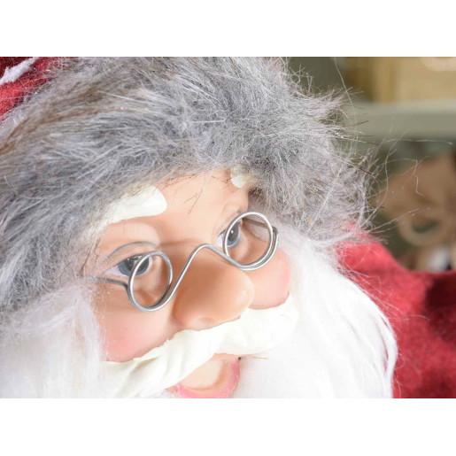 Figurina Mos Craciun rosu cm 26x18x62 H