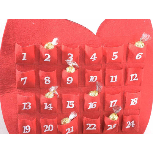 Calendar Advent model Mos Craciun cm 48 x 102 H