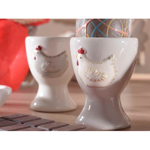 Suport ou ceramic Gallina White