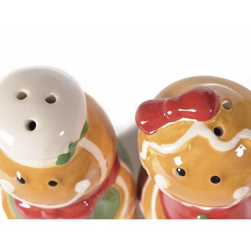 Set ceramica solnita pipernita model turta dulce 14 x 6 x 11 H
