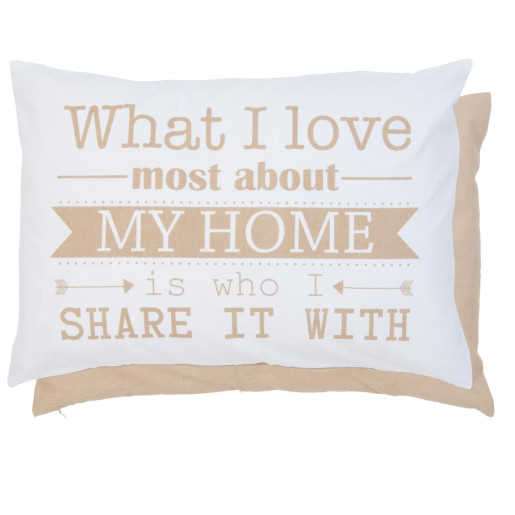 Fata perna bumbac My Home 35*50 cm