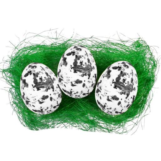 Set 30 oua alb pestrite polistiren 1.5 cm