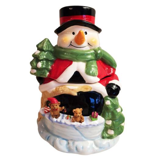Decoratiune cu capac Snowman