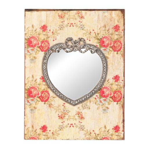Oglinda de perete Shabby Chic 23 cm x 2 cm x 30 cm