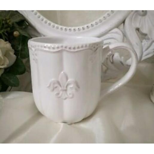 Cana ceramica alba Royal 12*9*10 cm - 0.3 L