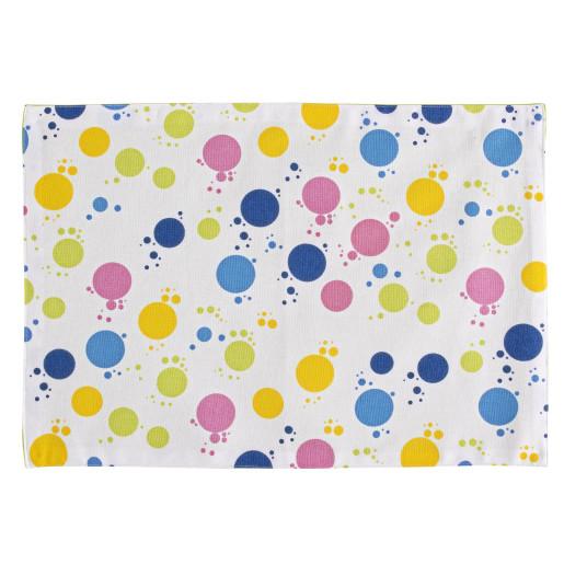 Set 4 suporturi bumbac farfurii Bubbles 33x48 cm