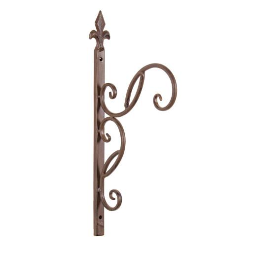 Suport fier forjat maro pentru ghiveci suspendabil 22 cm x 42h