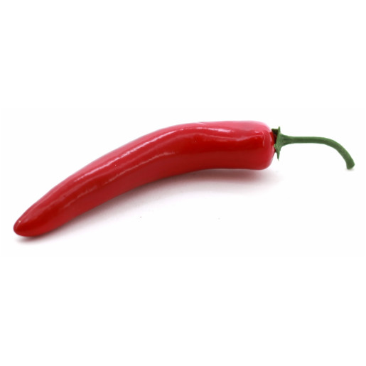 Chili decorativ plastic 10 cm