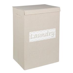 Cos rufe textil bej Laundry 40x30x60h