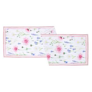 Fata de masa Flowers 40 cm X 150 cm