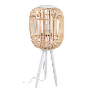 Lampadar lemn alb natur Finlandia Ø31x76h