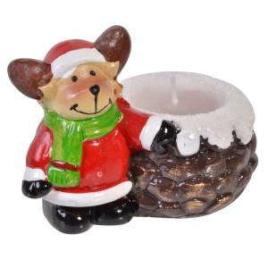 Candela ceramica Ren 6 cm x 8 cm