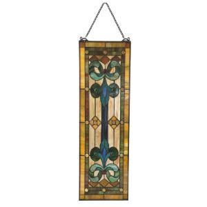 Vitraliu de perete din sticla Tiffany 25 cm x 73 h