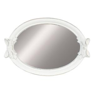 Oglinda Sofia alba polirasina  35*5*24 cm