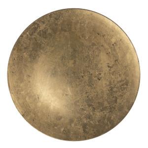 Farfurie din melamina auriu patinat Ø 33 cm