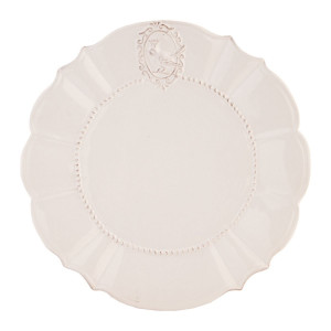 Farfurie din ceramica alba Ø 27 cm