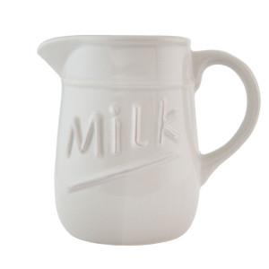Latiera ceramica bej Milk 17 x 11 x 15 cm  -  0,75 L