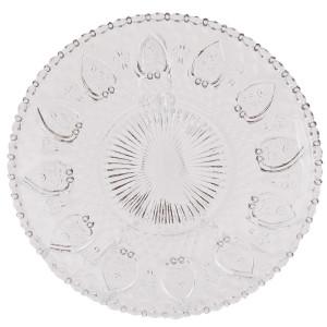 Farfurie din sticla transparenta Ø 20 cm