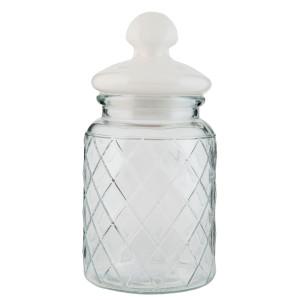 Borcan condimente sticla cu inchidere ermetica Nehara 10 cm x 21 cm  0.8 L